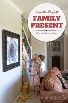 Looking for toys that are easy for kids to share? These tips will help you find the perfect family present for your kids. via /mamasmiles/