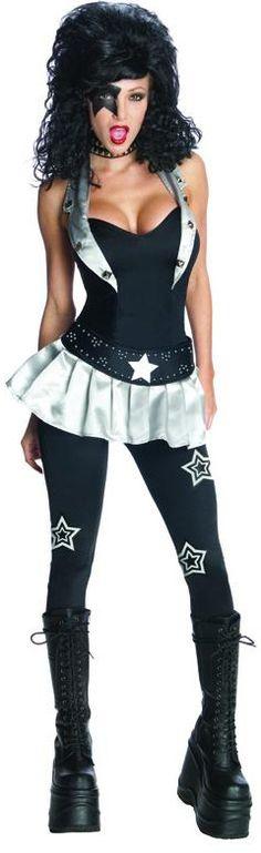Miss The Starchild Kiss™ kostuum voor dames: Volwassenen Kostuums,en goedkope carnavalskleding - Vegaoo