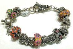 Mix redbalifrog, tedora, ohm beads e il vetro in testa di Alessia Fatone bracciale e beads compatibili con pandora e trollbeads ecc ecc Facebook: pianeta beads www.gold-jewels-italy.com