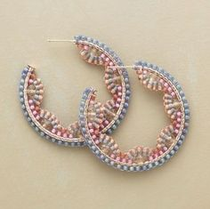 LOVE THIS!  Japanese seed beads $248 - minsk sono carucci ma... guardare il prezzo!!! con lo stesso importo me ne faccio almeno 'na 50 de paia... :) by wanting