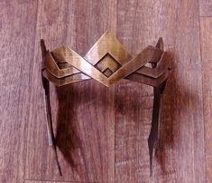 Wonder Woman Hippolyta Crown, 3D Printed