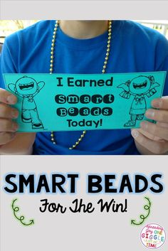 Are you looking for a fun, cheap, and easy idea for positive reinforcement to use in your classroom? Your students will love earning smart bead rewards!