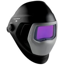 The Speedglass 9100xxi helmet from 3M is their newest welding product. With a New natural colour & contrast feature and faster switching between welding & grinding, at the touch of a external button this helmet is fast becoming welders first choice. Built in memory modes activates one of two presets at the touch of an external button and 'Instant On' allows you return to the last welding mode.