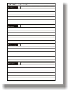 Planner Book Printing Blank Calendar Template, Planner Template, Printable Planner, Planner Stickers, 2018 Planner, Planner Book, Budget Planner, Book Review Template, Book Printing