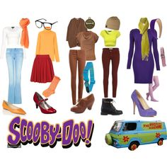 A fashion look from May 2013 featuring long sleeve cocktail dresses, white shirt and long sleeve tops. Browse and shop related looks. Costumes For Teens, Cute Costumes, Group Costumes, Girl Costumes, Family Costumes, Scooby Doo Halloween Costumes, Halloween Costumes For Girls, Zombie Costumes, Halloween Couples
