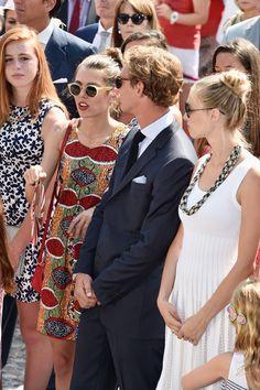 Majestic Pierre Casiraghi ! • Charlotte Casiraghi, Pierre Casiraghi and Beatrice...