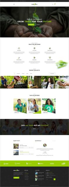 Podgorica is a wonderful #Photoshop Template suitable for all types of #Environmental and #GoGreen Organizations website with 3 homepage layouts and 19 organized PSD files download now➩ https://themeforest.net/item/podgorica-environmental-psd-template/19165156?ref=Datasata