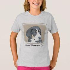 #Bernese Mountain Dog Puppy T-Shirt - #bernese #mountain #dog #puppy #dog #dogs #pet #pets #cute #bernesemountaindog