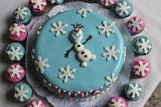 Torta y cupcakes Frozen