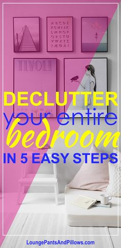 How to Declutter Your Bedroom in 5 Simple Steps