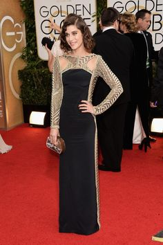 Lizzy Caplan: Best Dress That Never Showed Up on TV