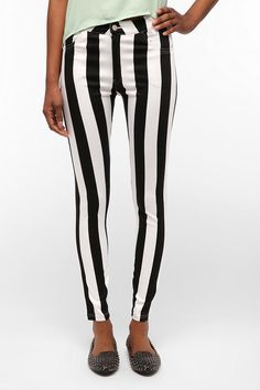 Urban Outfitters Striped High-Rise Jean