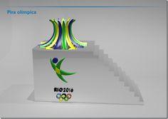 revezamento da tocha olímpica rio 2016 - Pesquisa Google