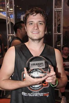 Josh Hutcherson at the SBNN Basketball-Charity Game 2013 Josh Hutcherson, Together Forever, Hunger Games, Future Husband, Handsome, Young Men, Actors, Mortal Instruments, Teen Wolf