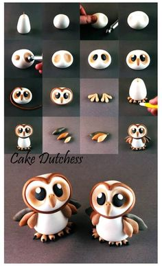Great little tutorial for owl lovers.  For all your cake decorating supplies, please visit http://Craftcompany.co.uk
