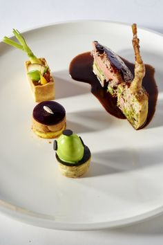 Matthieu OTTO - Meat plate, Bocuse d'Or France 2015