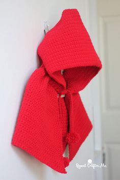 Little Red Riding Hood Cape | Yarnspirations