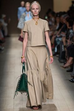 Valentino   Spring 2014 Ready-to-Wear Collection   Irene Hiemstra Modeling   Style.com. This needs colorful accessories