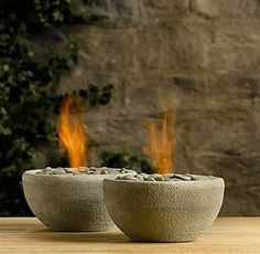 How to make table top fire bowls Tutorial