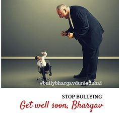 Bullying is not cool #bullybhargav Fear is not a leader's tool Image by: Sujil Chandra Bose