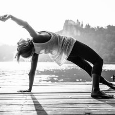 Open your heart and shoulders in chest opening yoga poses like Camel Pose, Fish Pose and Wild Thing.