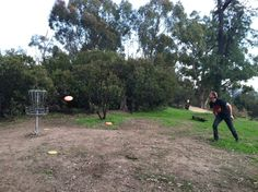 My absolute favorite LA outdoor activity in all weather: disc golf above dodger stadium. I love being able to be outside overlooking the stadium throwing frisbees and being a lad. -Greg