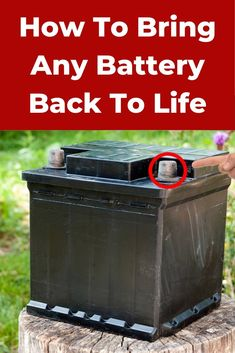 Try this method to bring those old batteries back to life! Survival Tips, Survival Skills, Car Cleaning Hacks, Diy Home Repair, Cool Inventions, Useful Life Hacks, Alternative Energy, Tricks, Cool Things To Buy