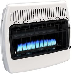 Dyna-Glo BF30NMDG 30,000 BTU Natural Gas Blue Flame Vent Free Wall Heater Natural Gas Wall Heater, Best Space Heater, Garage Heater, Compact Refrigerator, Comfort Mattress, Canned Heat, Blue Flames, Heating Systems