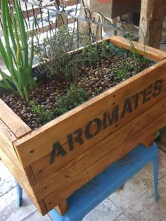 Make a Pallet Wood Spice Tray Source by pgadebled
