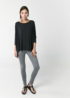 Super slim-fit Belle jeans - Jeans - Women - MANGO