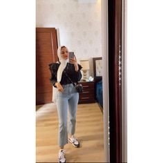 Hijab Outfit, Suits, Jeans, Casual, Fashion, Moda, Fashion Styles, Suit, Hijab Tutorial