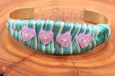 Green Heart Bracelet
