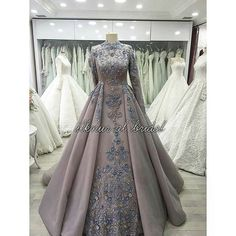 No photo description available. Bridal Dresses, Prom Dresses, Formal Dresses, Muslimah Wedding Dress, Indian Wedding Gowns, Hijab Stile, Pakistani Dresses, The Dress, Beautiful Gowns