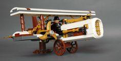Steampunk airplane - cloudpiercer (1) | by adde51 Cool Lego, Awesome Lego, Steampunk Lego, Lego Memes, Lego Universe, Lego Ww2, Lego Bots, Lego Fire, Lego Spaceship