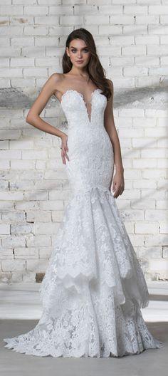 24 mejores imágenes de vestidos de novia: pnina tornai | dream