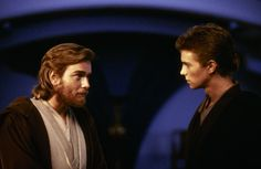 Ewan McGregor and Hayden Christensen in Star Wars: Episode II - Attack of the Clones