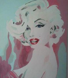MM Painting Marilyn Monroe Art, Tatting, Disney Characters, Fictional Characters, Aurora Sleeping Beauty, Disney Princess, Drawings, Art, Bobbin Lace