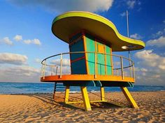 These Sweet Beach Stands Could Double as Summer Homes #architecture trendhunter.com