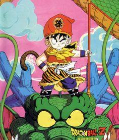 Dragon Ball Z (Goku, Shenlong)