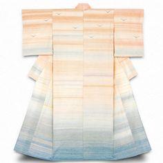 "Japan, ""Evening glow"", kimono by Yoko Shimura, (dying : madder plant, stinkwood), 2013"
