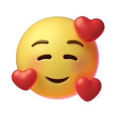 In Love Hearts Sticker by Emoji for iOS & Android Animated Smiley Faces, Funny Emoji Faces, Animated Emoticons, Funny Emoticons, Cute Cartoon Pictures, Emoji Pictures, Cute Love Cartoons, Love You Gif, Cute Love Gif
