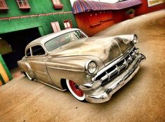 1954 Chevy in bronze. We'd like to see this one tearing through the desert, kicking up some sand!