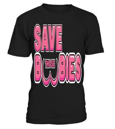 save those boobies breast cancer support t shirt save those boobies breast cancer support t shirt - Christmas Boobies