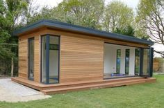 Gallery – Garden Rooms, Garden Offices and Garden Studios Yoga Studio Home, Yoga Studio Design, Studio Shed, Garden Studio, Workout Room Home, Workout Rooms, Ayurveda, Small Home Gyms, Diy Home Gym