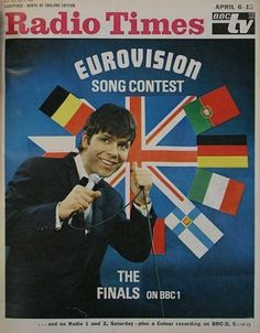 Eurovision 1968 - Cliff Richard on the cover of Radio Times