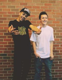 Kalin and Myles - love them! look at those faces 8)