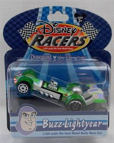 New in Collectibles, Disneyana, Contemporary (1968-Now) You are bidding on a New Walt Disney World Racers Buzz Lightyear Car  Car is Die Cat and 1/64 Scale  Comes brand new in package  This is a Disney Parks Exclusive