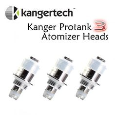 Authentic 5 Pack Kanger Protank 3 Clearomizer Coil Heads for £10.99