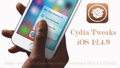 Cydia Tweaks Ios 12 4 9 Party Apps Ipod Touch 6th Generation Apple Brand