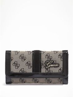 91ae40d10 Amazon.com: GUESS Poway Clutch Bag Wallet, Black: Shoes. Carteras Para  Mujeres